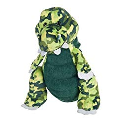 peluche crocodile connectée